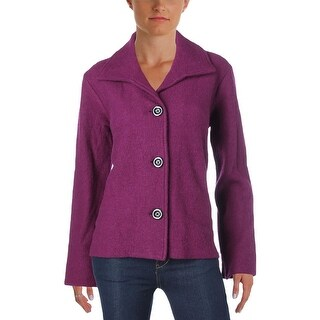 Kasper Womens Jacket Wool Long Sleeves
