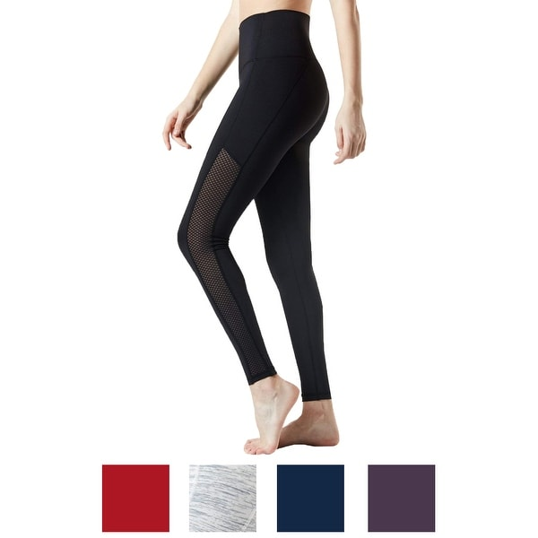 3c1ca05cfbb6e9 Shop TSLA Tesla FYP56 Women's High-Waisted Ultra-Stretch Tummy Control Yoga  Pants - Free Shipping On Orders Over $45 - Overstock - 25603694