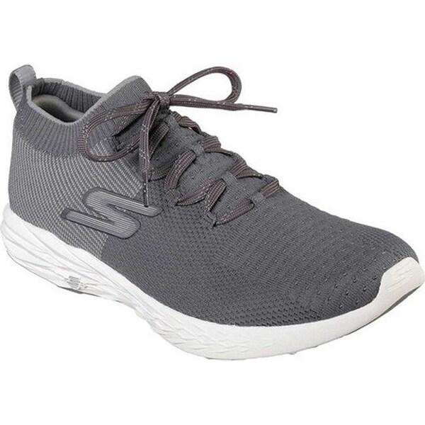 Skechers Men's GOrun 6 Running Shoe Charcoal