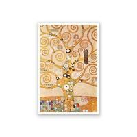 Frieze II - Gustav Klimt Fine Art Collections Matte Poster 16x24