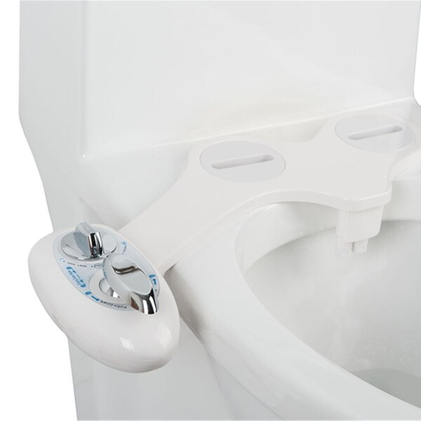 Shop Costway Fresh Water Spray Manual Non Electric Bidet Toilet Seat