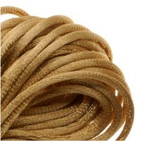 Rayon Satin Rattail 1mm Cord - Knot & Braid - Gold (6 Yards)