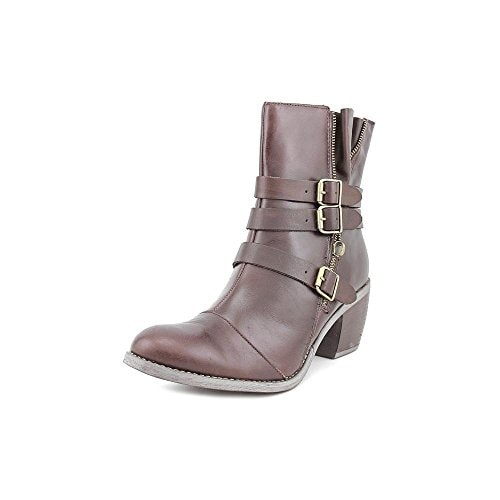 Hush Puppies Womens Rustique ankle Leather Cap Toe Ankle Combat Boots