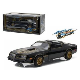 1977 Pontiac Trans Am Black Smokey and the Bandit Movie 1/24 Diecast Model Car by Greenlight