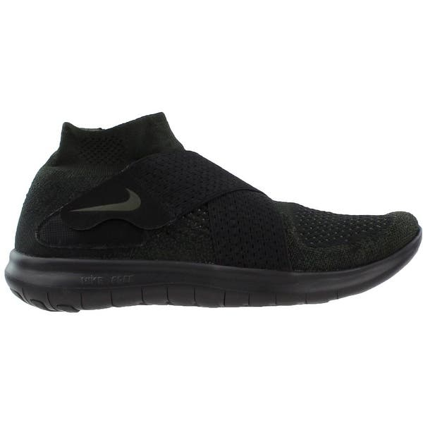Shop Nike Mens Free Running Motion Flyknit 2017 Running Casual Shoes Overstock 25436054