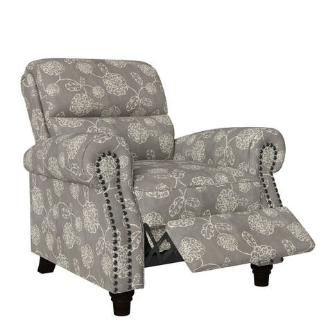 Copper Grove Jessie Floral Push Back Recliner Chair