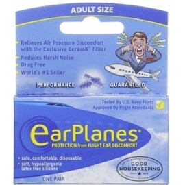EarPlanes Ear Plugs 1 Pair