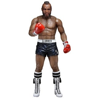 "Rocky 40th Anniversary 7"" Action Figure: Clubber Lang with Black Trunks"