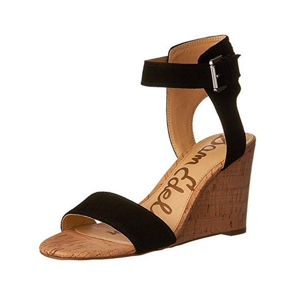 f5785996434f Shop Sam Edelman Womens Willow Wedge Sandals Open Toe Casual - Free ...