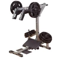 Body-Solid Leverage Squat/Calf Machine - Silver