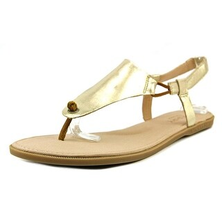 Sperry Top Sider Calla Jade Women Open-Toe Leather Silver Slingback Sandal
