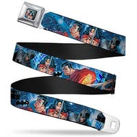 Dc Comics Trinity Group Pose Full Color Justice League Infinite Crisis Seatbelt Belt