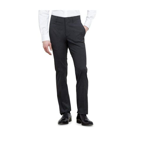 Kenneth Cole Mens Athleisure Casual Trouser Pants