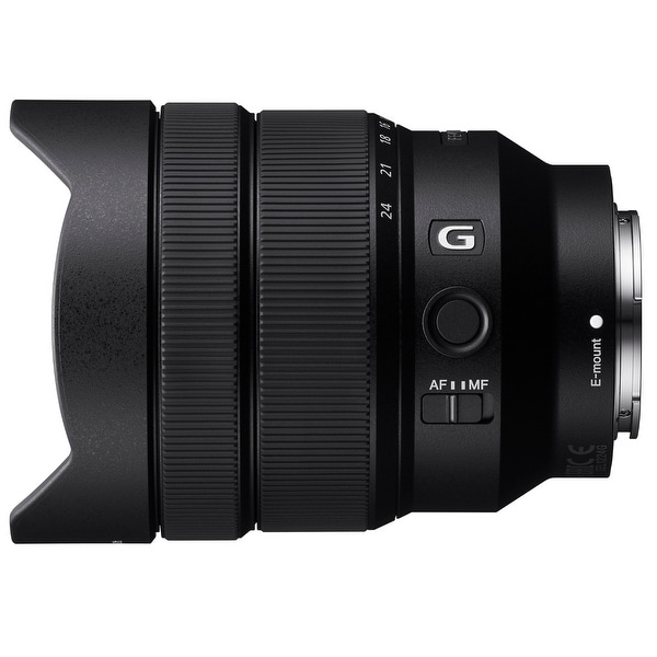 Sony Alpha FE 12-24mm f/4 G Ultra Wide-Angle Zoom Lens - black