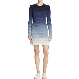 Theory Womens Sweaterdress Ribbed Ombre