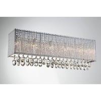"Bromi Design B84675S Crystalline 5 Light 7-7/8"" High Wall Sconce"