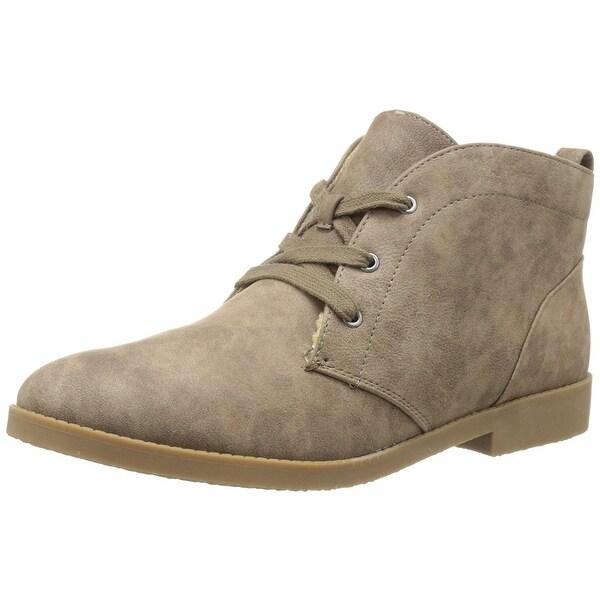 Indigo Rd. Womens Auburn Almond Toe Ankle Fashion Boots
