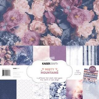 """Misty Mountains - Kaisercraft Paper Pack 12""""X12"""" 12/Pkg"""