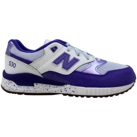 New Balance 530 Grade School Purple/White KL530PPG Grade-School