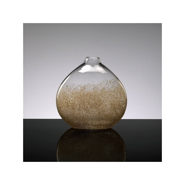 "Cyan Design 2174 10"" Medium Russet Vase - russet and gold dust - N/A"