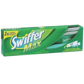 "Swiffer 92817 Swiffer Max XL Sweeper Kit, 18"" x 10"" x 48"""