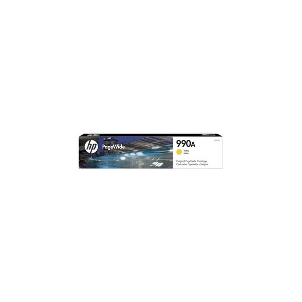 HP 990A Yellow Original PageWide Cartridge Toner & Inkjet Cartridges