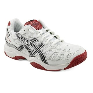 Asics Gel-Resolution 3 GS Youth Round Toe Synthetic White Running Shoe
