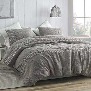 Link to Teddy Stitch - Coma Inducer Oversized Comforter - Gray and White Embroidery Similar Items in Comforter Sets