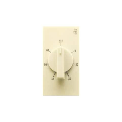 Air King AKT60 Exhaust Fan Control Switch with Simultaneous Electric Delay Timer
