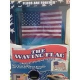 The Waving Flag Electronic Desktop American Flag With 2 Patriotic songs