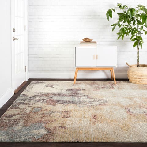 """Alexander Home Modern & Contemporary Marble Abstract Area Rug - 9'6"""" x 12'6"""""""