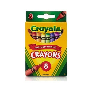Crayola Crayons 8 Color Peggable