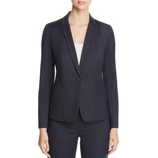 Elie Tahari Womens Tova One-Button Blazer Pattern Long Sleeve (3 options available)