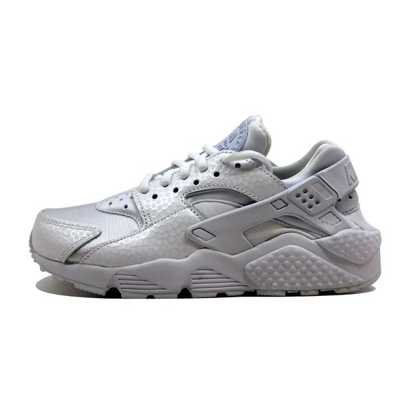 8f3181d9ab5b2 Shop Nike Women s Air Huarache Run Premium White White 683818-100 ...