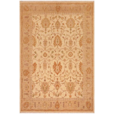 """Shabby Chic Ziegler Chandra Hand Knotted Area Rug -8'0"""" x 10'0"""" - 8 ft. 0 in. X 10 ft. 0 in."""