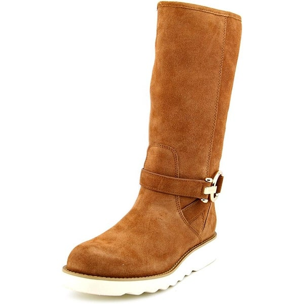 Coach Virtue Women  Round Toe Suede  Winter Boot