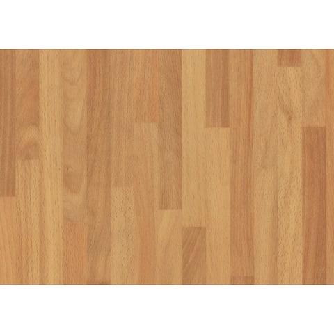 "Brewster T346-0168 Faux Wood 78-3/4"" Long Vinyl Adhesive Film - Set of - Brown"
