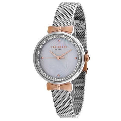 Ted Baker Women's London SIlver Watch - TE50861001