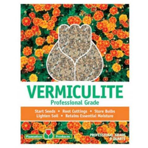 Plantation Products G208 Professional Grade Vermiculite, 8 Quart