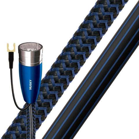 AudioQuest Husky XLR Male to RCA Male Subwoofer Cable - 26.25 ft. (8m)