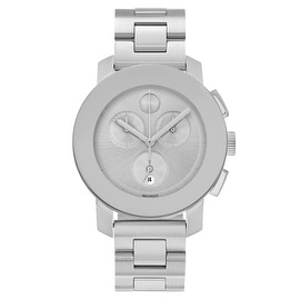 Movado Men's 'Bold' 3600075 Stainless Steel Chronograph Bracelet Watch