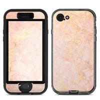 DecalGirl  Lifeproof iPhone 7 Nuud Case Skin - Rose Gold Marble