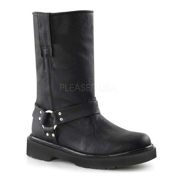 Shop Demonia Women s Rival 303 Boot Black Vegan Leather - On Sale - Free  Shipping Today - Overstock - 11761180 82cd37691d50a