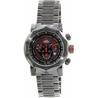 Swiss Precimax Men's Vector Pro SP13095 Black Stainless-Steel Sport Watch