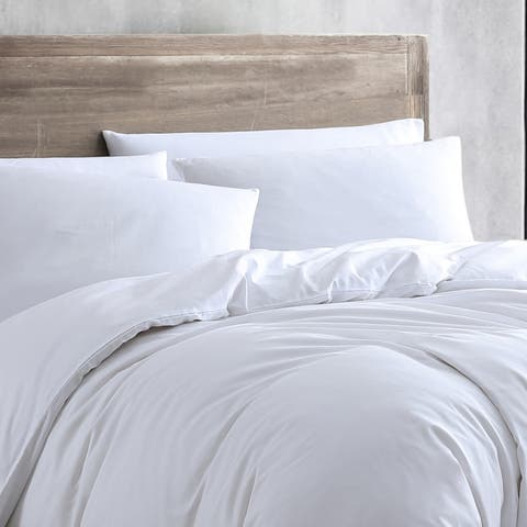Kenneth Cole New York Miro Solid Reversible Duvet Cover Set