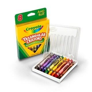 Crayola Triangular Crayons 8 Count