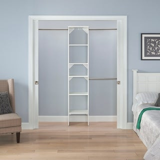 Link to ClosetMaid SuiteSymphony Starter Closet 16-inch Wide Tower Kit Similar Items in Laundry