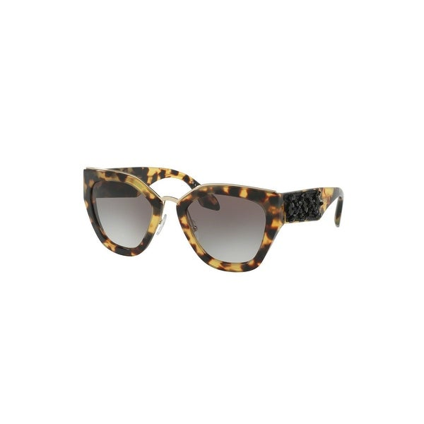 8981783a3bb Shop Prada Bess Sunglasses In Medium Havana - Medium Havana - One Size - Free  Shipping Today - Overstock.com - 26301284