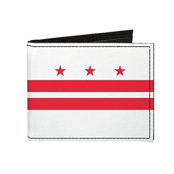Buckle-Down Canvas Bi-fold Wallet - District Of Columbia (washington D.c Accessory