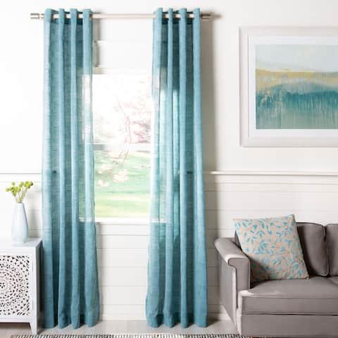 Safavieh Henri Semi-Sheer Window Curtain Panel